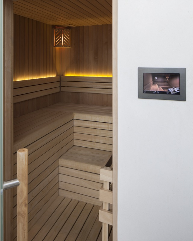 Project number 2432 - The sauna with control panel