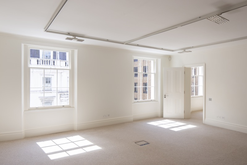 Project number 2536 - Clear, clear spaces to provide maximum tenant flexibility