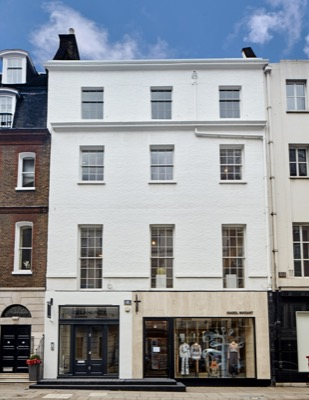 Transforming a Mayfair Town House into a magnificent gallery and offices